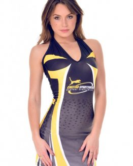 the-Hostess-Company-Gridgirls-Outfit-halter neck dress