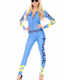 the-Hostess-Company-GRIDGIRL-OUTFIT-Catsuit-Police-Blue-1