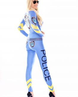 the-Hostess-Company-GRIDGIRL-OUTFIT-Catsuit-Police-Blue-2