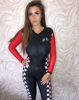 the-Hostess-Company-GRIDGIRL-OUTFIT-Catsuit-Red-Racing-1