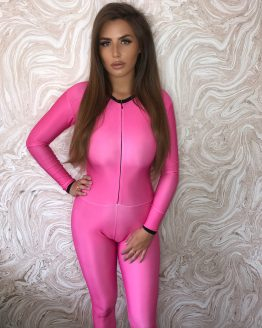 the-Hostess-Company-GRIDGIRL-OUTFIT-Catsuit-pink-einfarbig-1